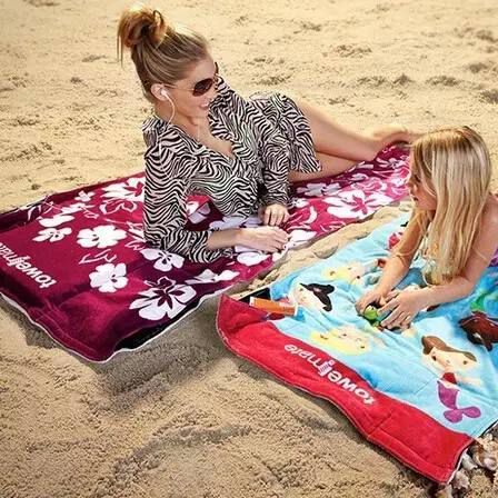 Microfiber Quick Dry Sports Towels Double-sided Velvet Super Absorbent l Protected Outdoor Travel Towel