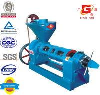 new agricultural machines sunflower oil cold and heat screw press automatic oil milling machinery