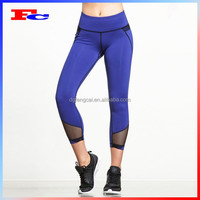 Nylon Spandex Custom High Quality Women's Sports Wear With Phone Pockets Fitness Gym Leggings