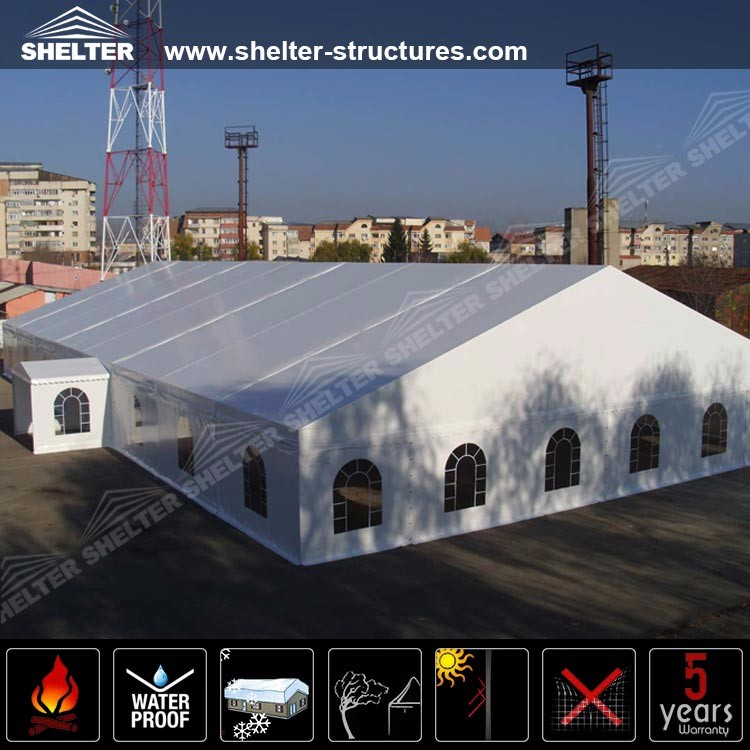 40m x 100m Indian big wedding tents with drape ceiling for sale