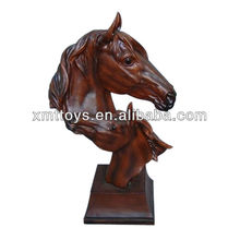 polyresin horse head home decoration