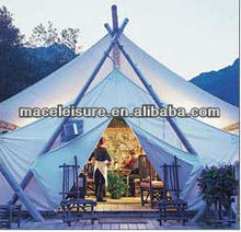 safari tent waterproof outdoors glamping tent /Luxury hotel tent for sale