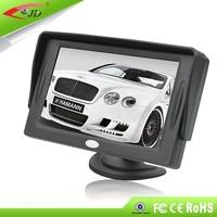 Rear view mirror car monitor,4.3 inch car TFT monitor ,auto electronics