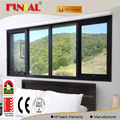 Customized 15mm low-e glass Australia standard aluminum awning window with mosquito blind