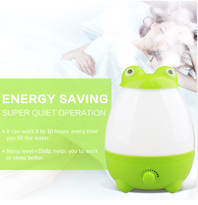2L humidifier home ultrasonic aroma mist humidifier diffuser for home&office