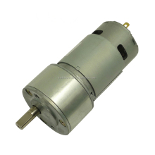 low noisy long life 12v 775 brush dc electric motor with gearbox
