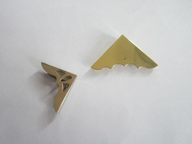 Decorative Box Corner Brass Plated/hs2089