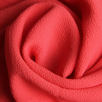 100%POLY BUBBLE CHIFFON FABRIC IN SOLID