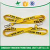 screen print polyester neck cord ID card lanyards with brand logo