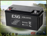 12V 65ah dry charged lead acid battery