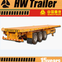 Facotry Supplies 20ft Container Semi Trailer