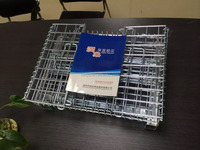 wire mesh pallet call butterfly cage for auto parts industries made in china