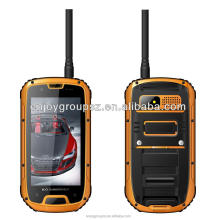 android phone 4.3' Quad Core Android 4.2 3G wifi GPS IP68 Rugged Outdoor Smartphone