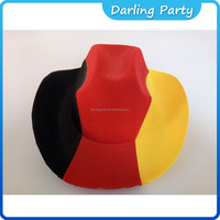 good quality party German flag cowboy hats
