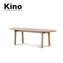 Nordic Style Design Dining Table Solid Wood Modern Table Wooden Legs Frame and Top Dining Table