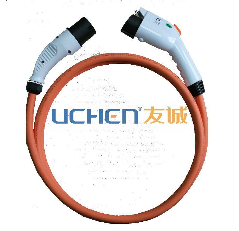 IEC62196-2 charger with cable for car EV plug connector