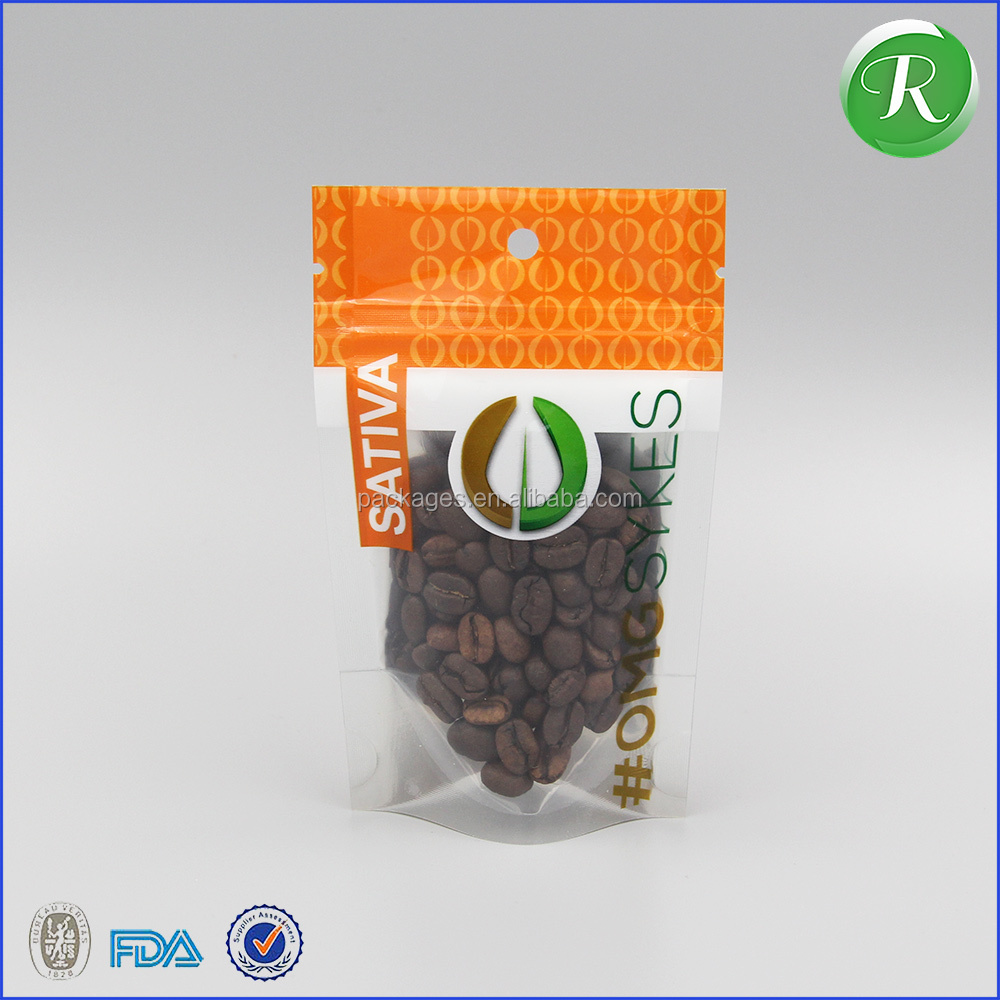 Ruika package food grade safety logo printed dried beef packing bag