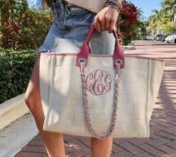 Wholesale New Style Monogram coco tweeted handbags