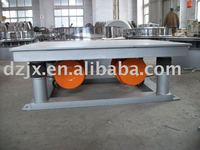 Beton consolidation table made of carbon steel