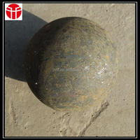 SAG ball mill grinding ore 4.5inch grinding ball