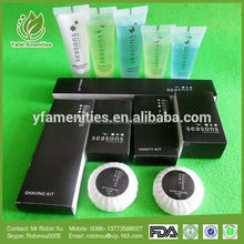 Top-level latest design spa shampoo guest supply is hotel guest amenities disposable
