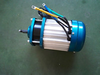 multi-application 72v 2500w brushless dc electric gear motor