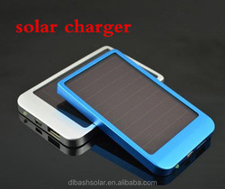 2000mAh Chinese supplies Protable mobile charging pad solar powered charger