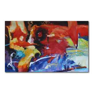 Seegart abstract flower oil painting 3d 2017 paintingnew
