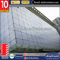 exterior building glass curtain walls
