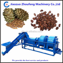 2016 Newest pine nut peeling machine pineal shelling crushing machine
