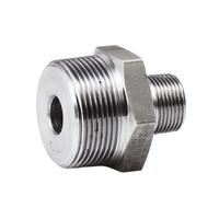 "NewShow Stainless Steel Pipe Fitting Reducing 1/2"" HEX NIPPLE"