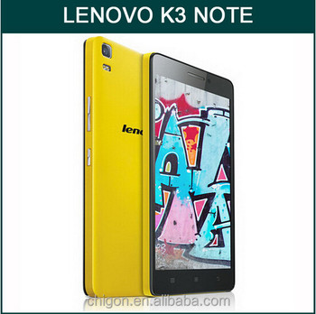 100% original Android Phone 5.5Inch Octa Core Android 5.0 2G RAM 16GB ROM 5.0MP front 13.0MP back LEnovo K3 NOTE