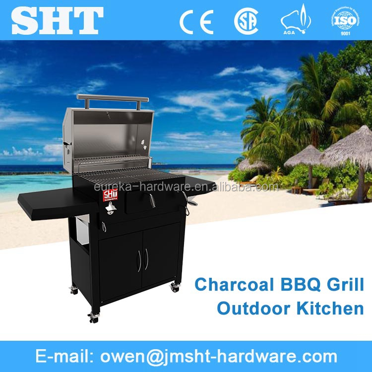 OEM New Model Manufacturer Cabinet Type Modern Barbeque Charcoal Grill
