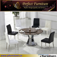 stainless steel dining table and chair sets PFC1213