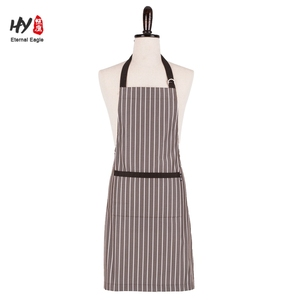 Adjustable Bib Apron with Pockets Cooking Kitchen Aprons for Women Men Chef
