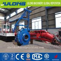 6 inch automatic desilting machinery for channel desilting