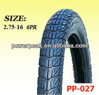motorcycle accessory tyre 2.75-16