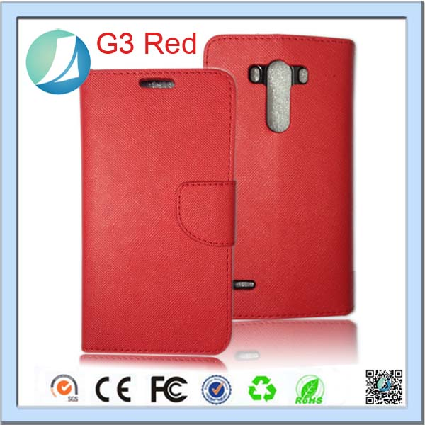 Factory price two way radio leather case for lg g3