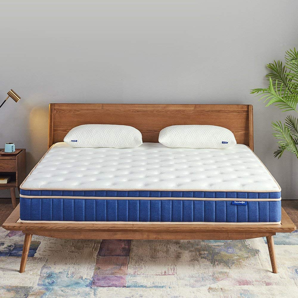 12 inches Euro Top Individually Pocket Spring Hybrid Mattress - Jozy Mattress | Jozy.net