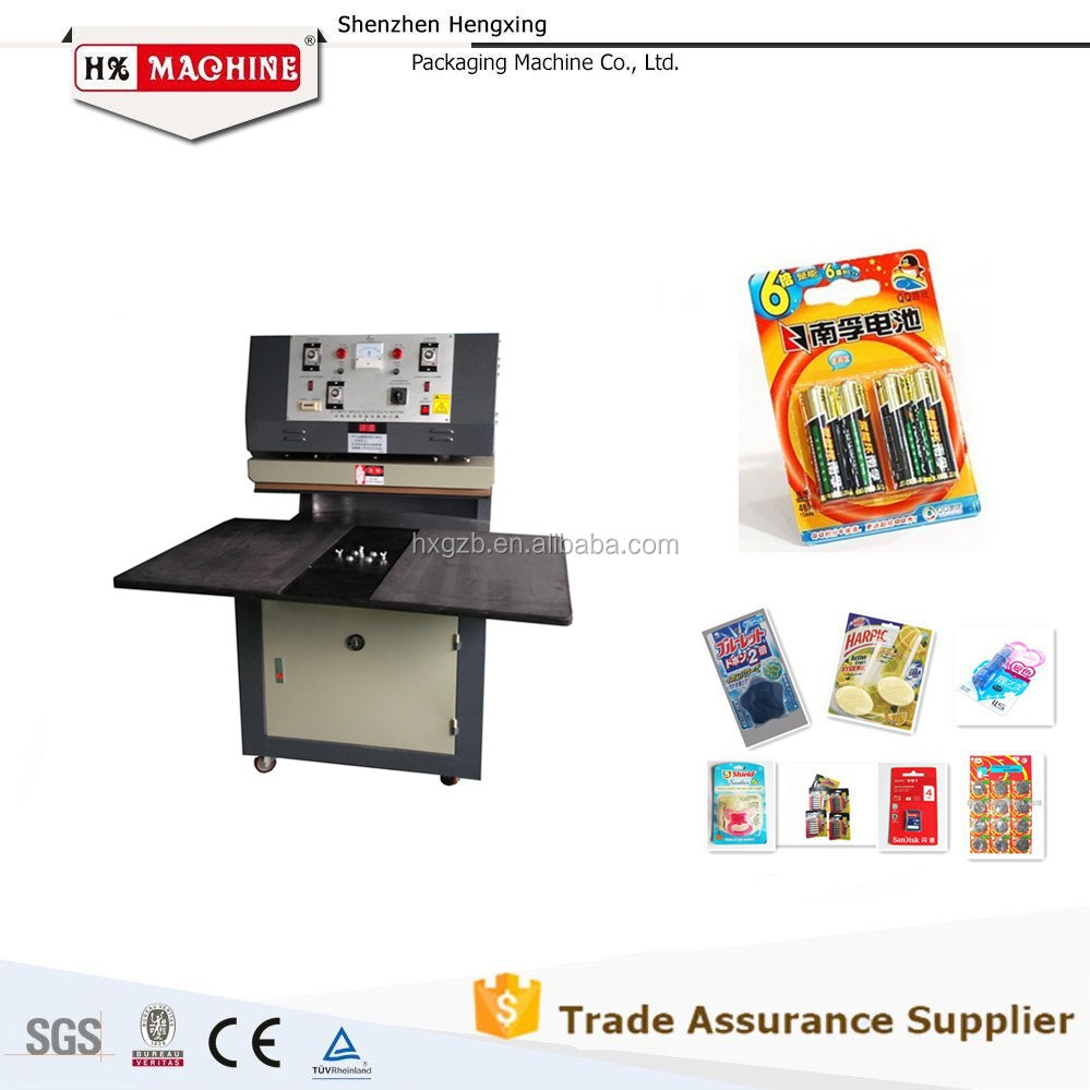 manual blister packaging pills machine factory price