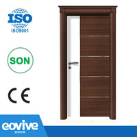 Modern desgin Bathroom PVC Plywood Flush Door Price