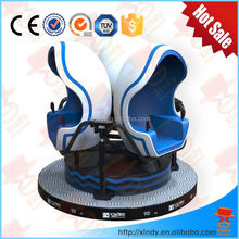 360 Degree Electrics Virtual Reality Cinema 9D Amusement Park Equipment