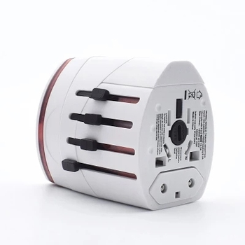 Best selling items  usb multi-nation travel power adapter world universal travel adaptor with usb charger