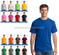High quality gildan brand 100 combed cotton tee shirts