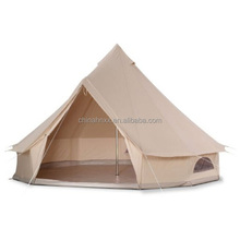 Waterproof military camping canvas bell tent