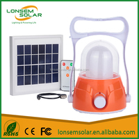 Hot Sales 40 LED Light Solar Charging Lamp Light Rechargeable Camping Lantern Lamp