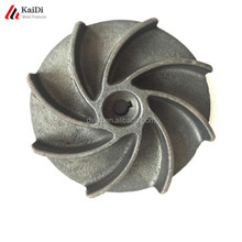 Steel investment casting pump impeller