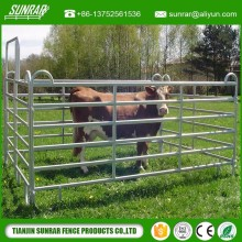Hot galvanized cattle corral panel