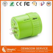 Multifunctional travel universal ce rohs 12v ac adaptor