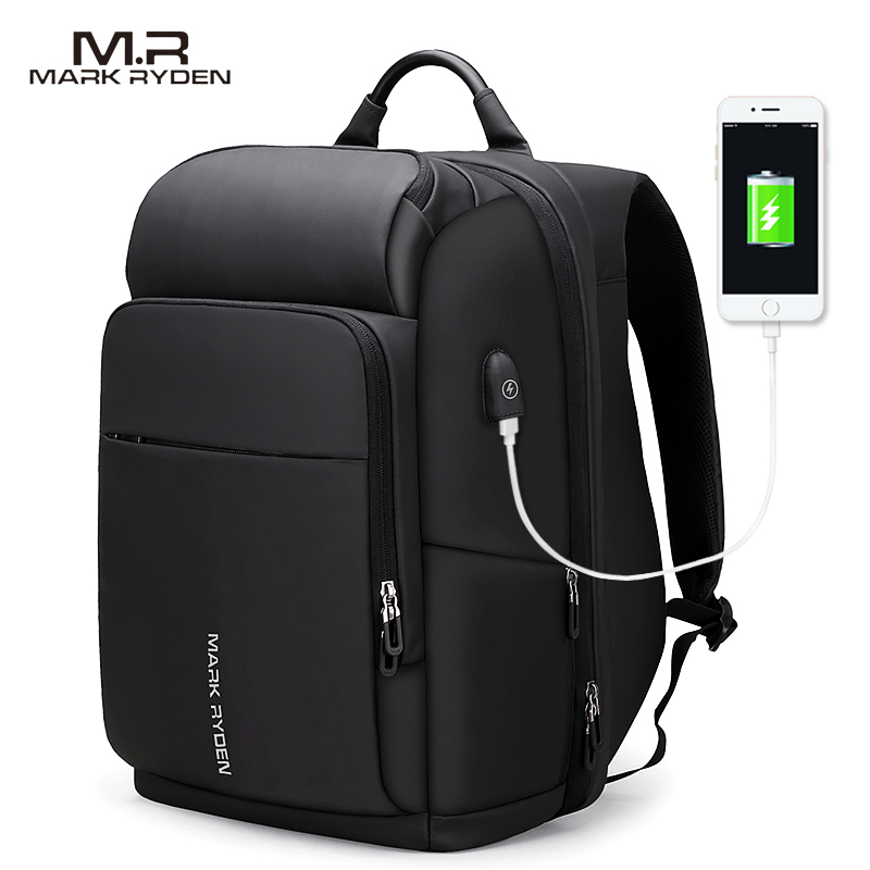 Mark Ryden Men <strong>Backpack</strong> Multifunction USB Charging 15 Inch Laptop Bag Large Capacity Waterproof Sport <strong>Backpack</strong> For Men